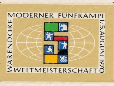 Abb.: Das Logo der WM 1970 (Foto: Kreisarchiv Warendorf)