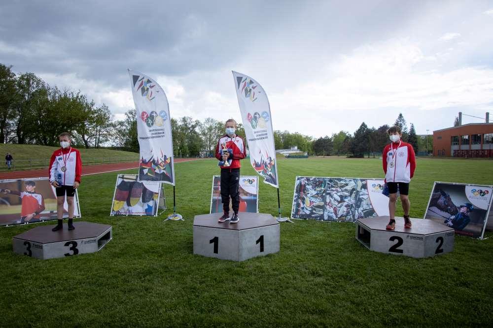Sanssouci Pokal Fünfkampf Siegerehrung