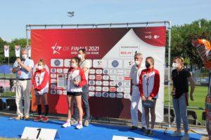 IDM - Die Finals - Siegerehrung Juniorinnen