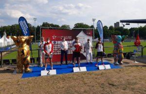 IDM - Die Finals - Siegerehrung Männer