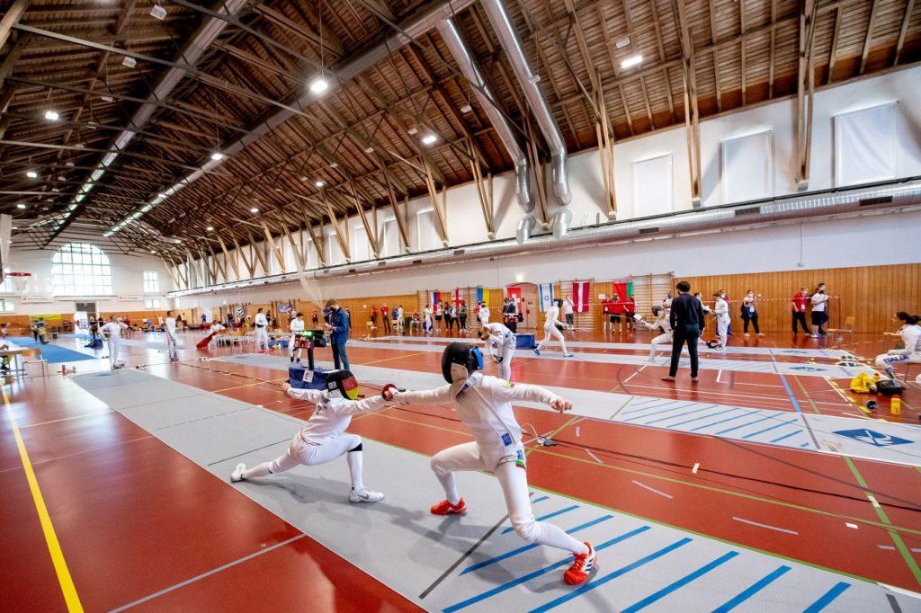 2021 Junior European Championships ECMP Patric Spahni Fechthalle