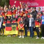 Biathle/Triathle WM 2021 Weiden Gruppenfoto