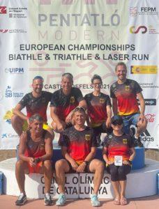 EM Biathle, Triathle und Laser-Run Team